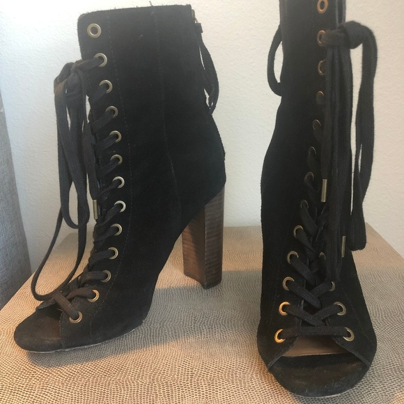 17cd7b7ce47 Steve Madden Lace-Up Booties